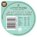 Load image into Gallery viewer, Mint Choc Chip Organic Coconut Ice Cream CASE 16 x 145ML Tubs
