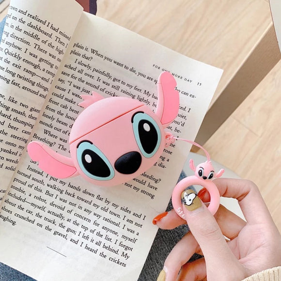 Pink Stitch AirPods Case