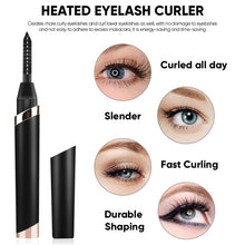 Load image into Gallery viewer, LashUp™ Heated Eyelash Curler