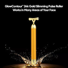 Load image into Gallery viewer, GlowContour™ 24k Gold Slimming Pulse Roller