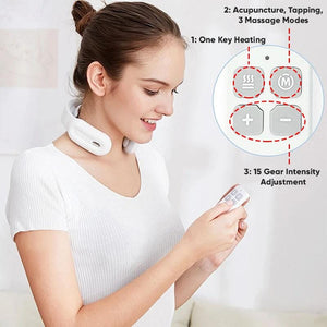 SmartTherapy™ Neck and Shoulder Electric Pulse Massager
