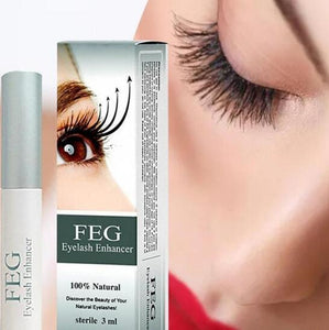 BloomVenus 100% Natural FEG Eyelash Enhancer Eyelash Growth Treatment Serum Natural Herbal Medicine Eye Lashes Mascara Lengthening Longer