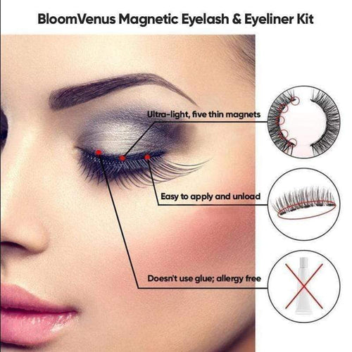 BloomVenus BloomVenus™ Magnetic Eyelash & Eyeliner Kit