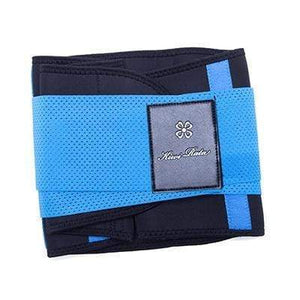 BloomVenus Blue / L / China Thermo Waist Trimmer Trainer Belt