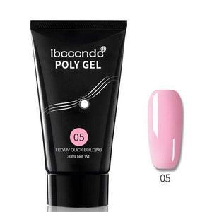 BloomVenus Dark Pink Nail Polish Acrylic Gel