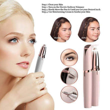 Load image into Gallery viewer, BloomVenus Electric Eyebrow Trimmer Pen