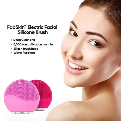 BloomVenus FabSkin™ Electric Facial Silicone Brush