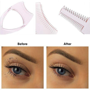BloomVenus FineLash™ 3-in-1 Mascara Shield Eyelash Comb