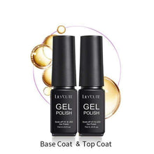Load image into Gallery viewer, BloomVenus Ivory LILYCUTE 7ml Base Coat Gel Polish No Wipe Top Coat Manicure Tips Eco-friendly Soak Off UV Gel Polish Nail Art Lacquer