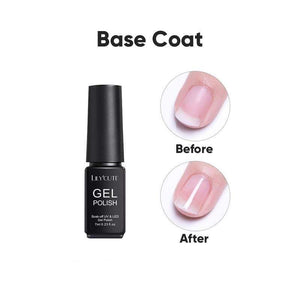 BloomVenus LILYCUTE Base and Top Coat Gel Polish