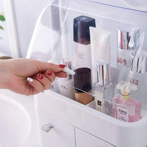 BloomVenus MaxiSpace™ Dust-Proof Makeup Organizer