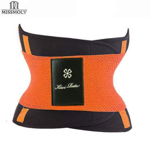 BloomVenus Orange / L / China Thermo Waist Trimmer Trainer Belt
