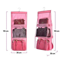 Load image into Gallery viewer, BloomVenus OrgaNice™ 6-Large-Pockets Hanging Handbag Organizer