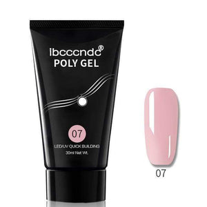 BloomVenus Pink Nail Polish Acrylic Gel
