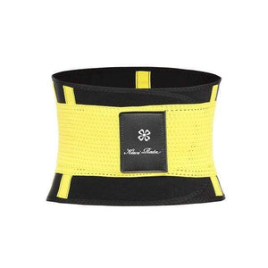 BloomVenus Yellow / XXL / China Thermo Waist Trimmer Trainer Belt