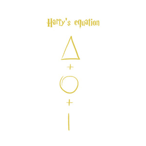 HARRY'S EQUATION GOLD - T-Shirt