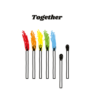 TOGETHER - Felpa
