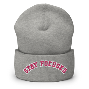 STAY FOCUSED - Cappello