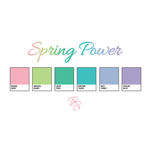 SPRING POWER - Crop Top