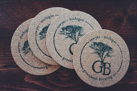 GB Cork Coasters