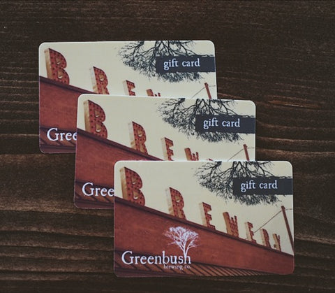 Greenbush Gift Card ($10-$100)