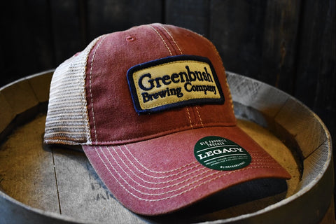 Vintage Greenbush Brewing Co. Patch Trucker Hat