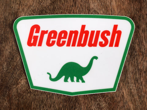 Greenbush Dino Sticker