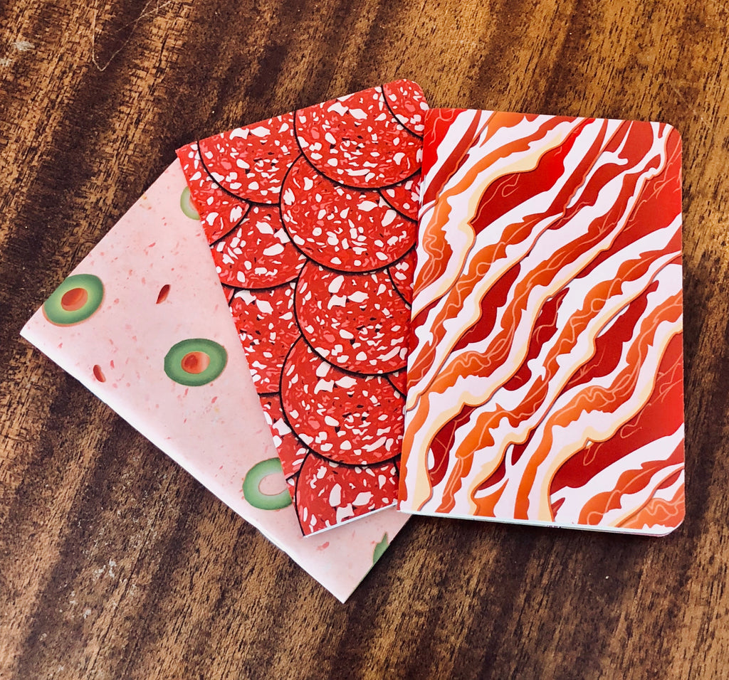 Meat Notebooks - 3 pk