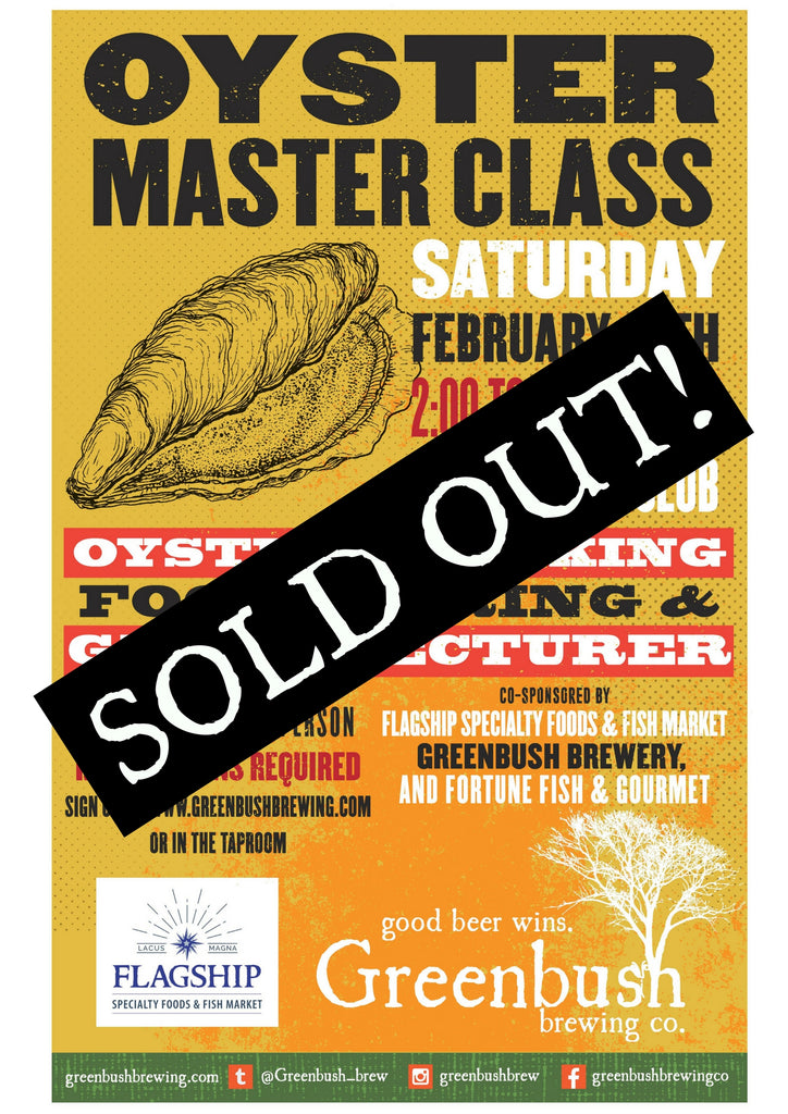 Oyster Master Class