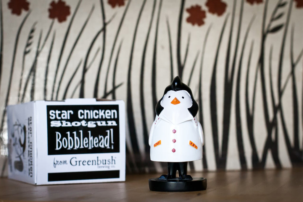 Star Chicken Bobblehead