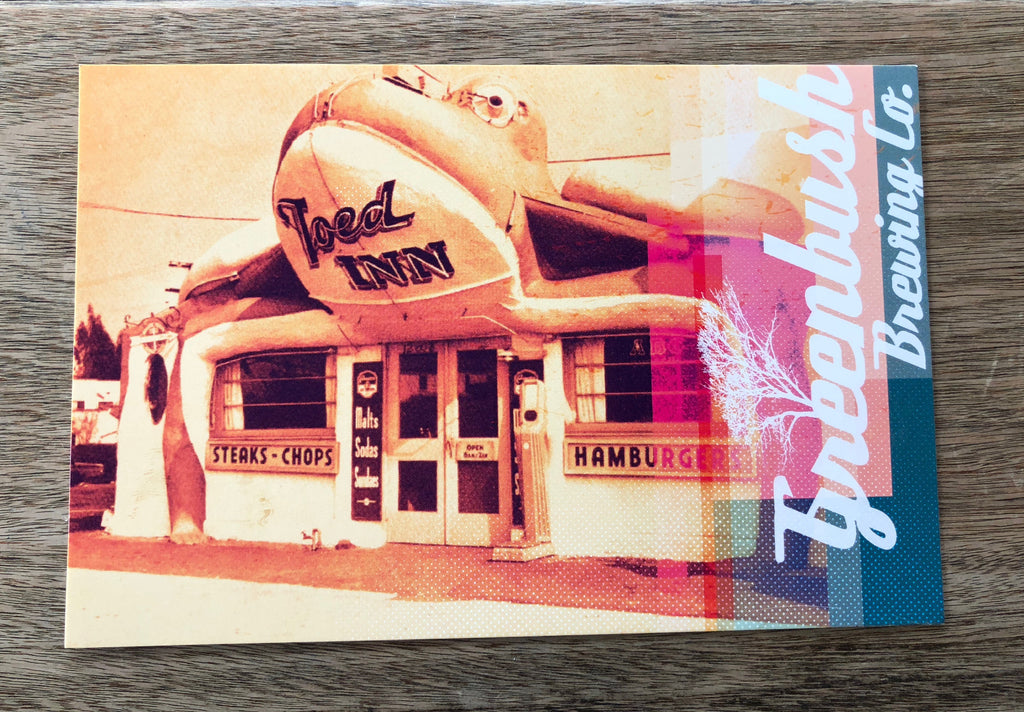Toed Inn Postcard