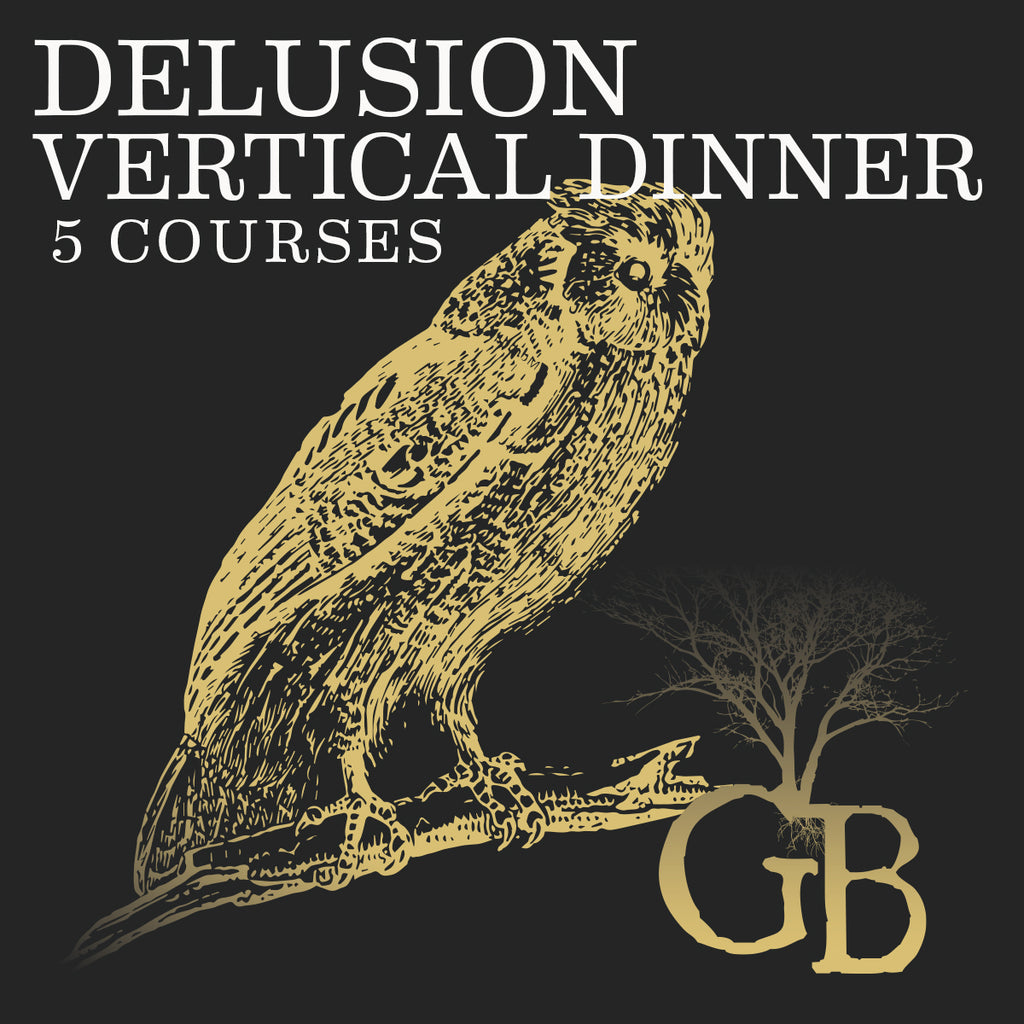 Delusion Vertical Dinner Ticket