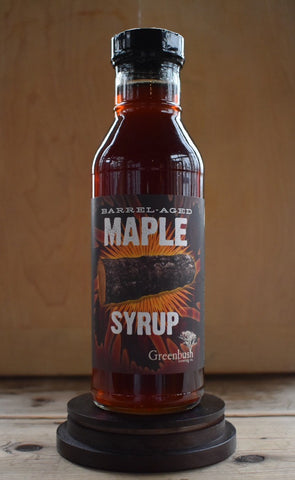 Barrel-Aged Maple Syrup