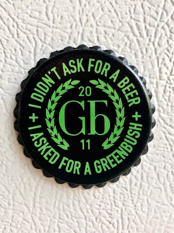 Greenbush Bottlecap Magnet