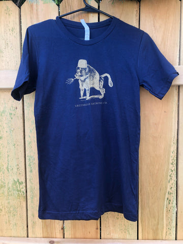 Smoking Baboon Navy Shirt