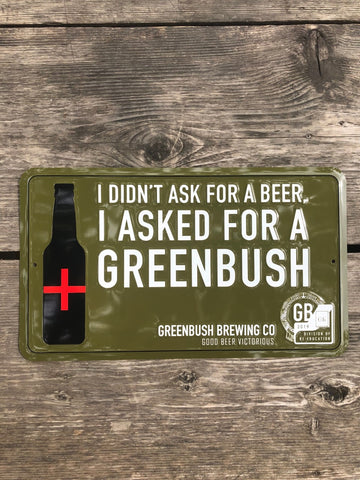 I Asked for a Greenbush Tin Tacker