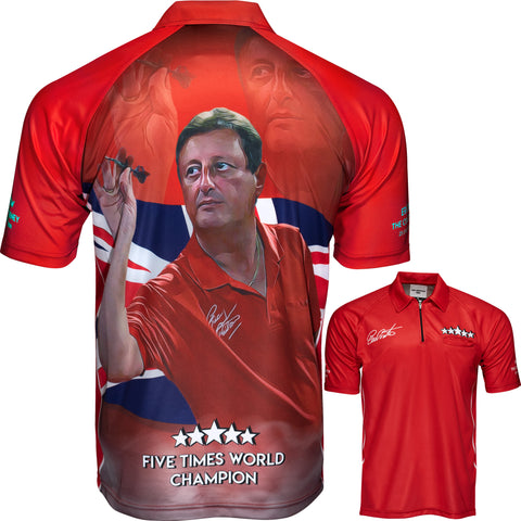 Official Eric Bristow Dart Shirt - Legend