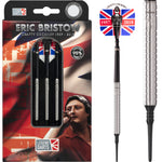 NEW Eric Bristow Ringed Silver  Soft Tip Darts 22g