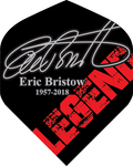Eric Bristow Dart Flights - 100 Micron - No2 - Std - Legend Signature - 1957-2018