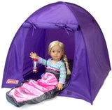 COZY Doll Camping Sleepover SLEEPING BAG FOR AMERICAN GIRL DOLL