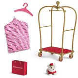 AMERICAN GIRL TRULY ME AG GRAND HOTEL LUGGAGE CART
