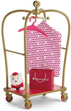 AMERICAN GIRL TRULY ME AG GRAND HOTEL LUGGAGE CART CAPE COD FASHIONISTA