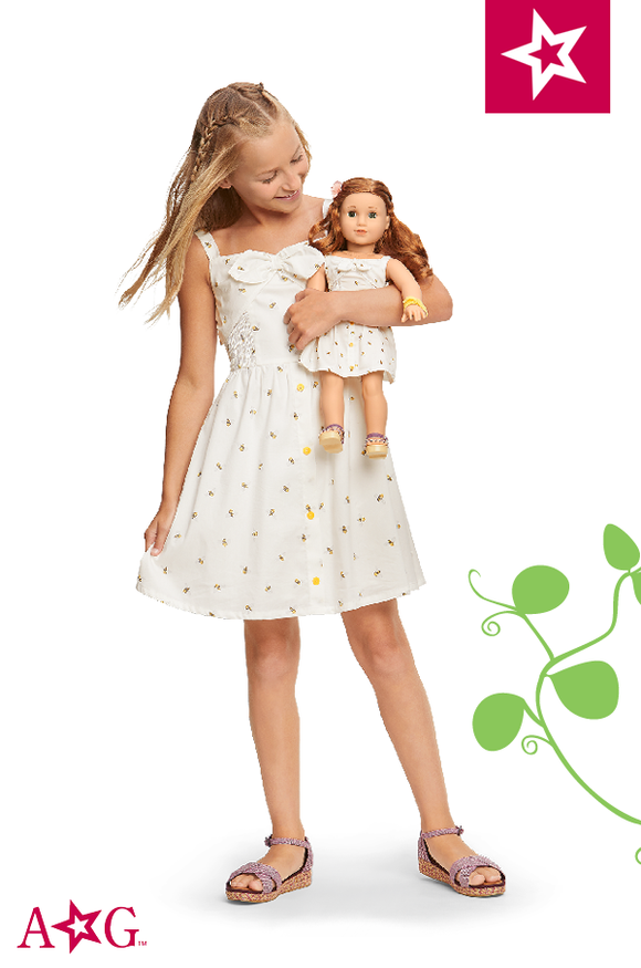 American Girl BLAIR GARDEN BEE DRESS