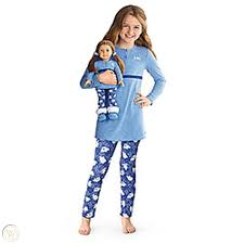 American Girl My AG Polar Bear PJS Pajamas