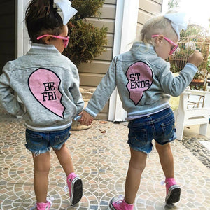 KIDS BEST FRIEND -  MATCHING BOMBER JACKET
