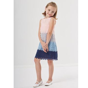 E-LAND - ANNA MERMAID TIERED DRESS
