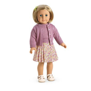 AMERICAN  GIRL DOLL KIT CLASSIC MEET OUTFIT 4 PC