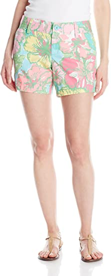 🌺   LILLY PULITZER THE CALLAHAN CASUAL SHORT FLORAL FLOWER PRINT