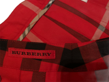 BURBERRY SKIRT - WRAP PLEATED PLAID RED SKIRT & BURBERRY POLO cape cod fashionista BURBERRY LOGO