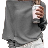 OFF THE SHOULDER RIBBED TOP Cape Cod Fashionista